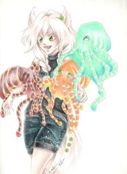 Sonja and the Octopie by Captain-Kiryu