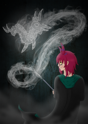[UP] ~ Slytherin Patronus by FetchTheTable