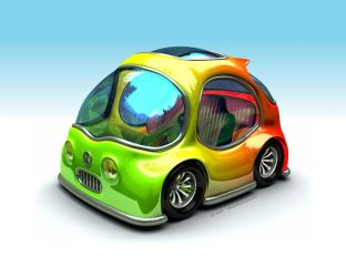 Car toon... by Micaelito