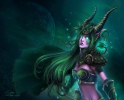 Ysera World of Warcraft by LindaLisa