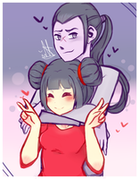Pucca x Tobe by KittycatNhi