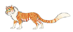 Tiger adoptable (Closed) by The-Silent-Queen