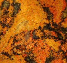 Stone Texture Orange Red Rock Gtranite Dyed Counte by TextureX-com