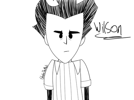 Don't Starve - Wilson by CompleteDarkness23