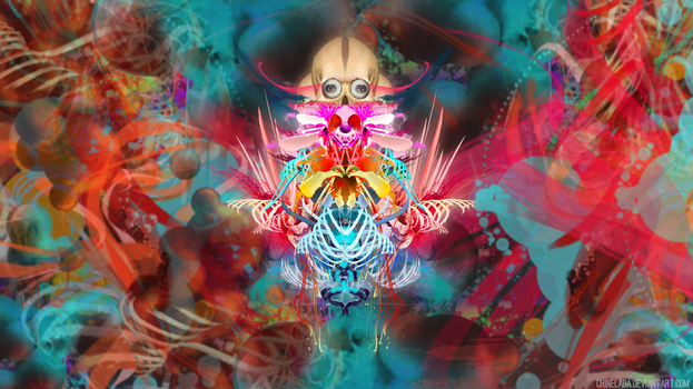 Psyco Colors Wallpaper by Chinelada