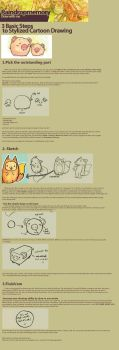 Stylized Cartoon Tutorial by Raindropmemory