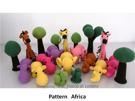 pattern Africa by cottonflake