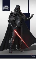 Star Wars ReDesign: Darth Vader by Phil-Sanchez