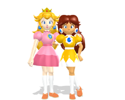 Classic Nintendo Team Princesses by PrinceCheap
