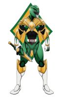 Green Power Ranger by comicartist88