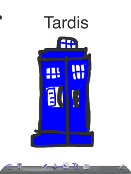Doctor Who TARDIS by F0X1G4MING