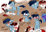 Fallout Equestria PH: BJ and P-21 funny moment 1 by zouyugi