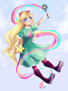 Star Butterfly by Nasuki100