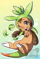 Chespin by Tartii
