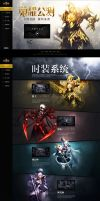 Glory Beta web design by onejian