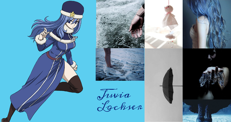 Juvia Lockser by Blue-marin
