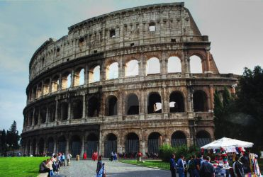 Rome HDR from a single JPG by scribbler
