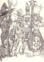 The Cast of Oz by WindyKid