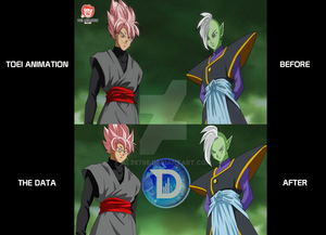 Black - Zamasu  - DB SUPER - REMAKE HD