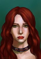 Commission : Girl from Dragon Age by TanyaGreece