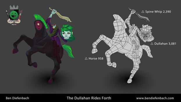 The Dullahan Rides Forth by darkmag07