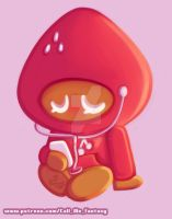 Strawberry Cookie - CookieRun by Call-Me-Fantasy