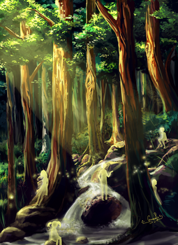 Forest of the Lost Children by Guava-Pie