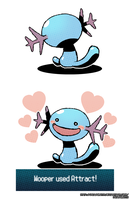 Wooper by Dragonith