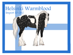 The Helsinki Warmblood Import ID 082# by LiaLithiumTM