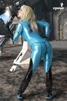 Sexy Zero suit by cosplayerotica