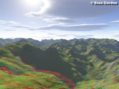3D - hill landscape by InvertedOblivion