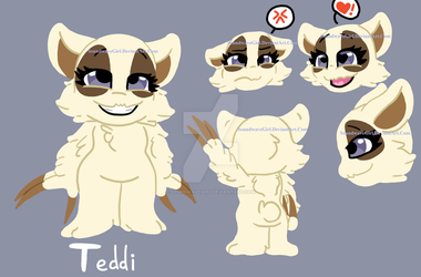 Teddi - Experiment Reference by SoundwaveGirl