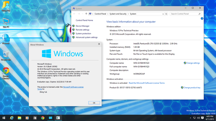 Windows 10 Pro Technical Preview (Build 10056) by Shing385629