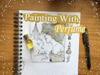 Painting with Perfume by AstaraBriarart