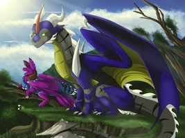 A beautiful day by Anais-thunder-pen