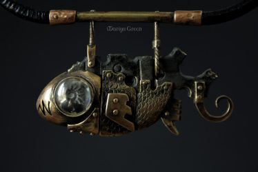 Ancient mechanical fish by omegaptera
