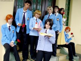 Ouran Group by Yukilefay