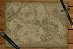 Amrush Hand-Drawn Style Map by gaaran