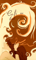 cafe au lait by crazy-or-nah