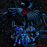 [FNAF/C4D] Little Puppets by CaramelloProductions