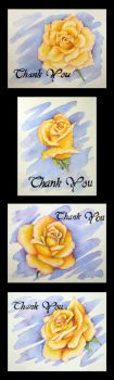 Thank You Cards by Glitchness