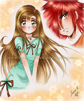 Shoujo style? XD by Rolly-Chan