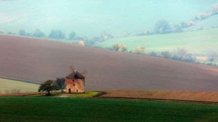 Windmill on Moravian waves by xrust