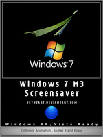 Windows 7 M3 Screensaver by yethzart