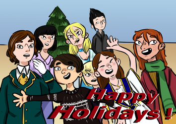 Happy Holidays! by kira99-chan