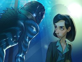 Shape Of Water by xidingart