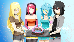 Happy Birthday Keruber0su by YakumoSoulQueen