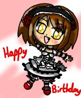 Haruhi Chibi :For Twin: by lillilotus