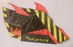 Robot Wars Series 10 Eruption by sgtjack2016