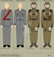 BSG Miscellaneous Uniforms by Wolff60